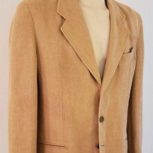 Giorgio Armani men's linen sport coat 1990's 42L
